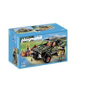 Playmobil Wild Life Pick-Up 4X4 5558