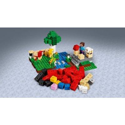 Lego Lego Minecraft De Schapenboerderij 21153
