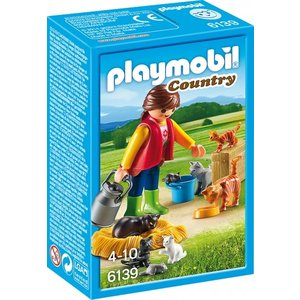 Playmobil Country Bonte Kattenfamilie 6139