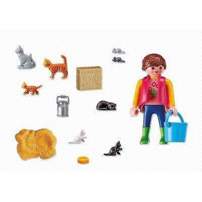 Playmobil Playmobil Country Bonte Kattenfamilie 6139