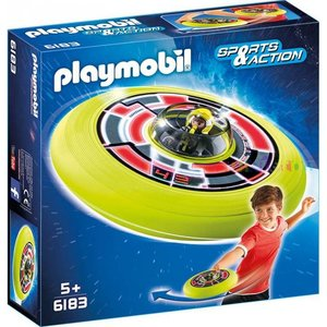 Playmobil Sports & Action Vliegende Schotel met Astronaut 6183
