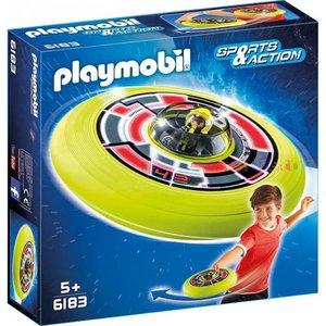 Playmobil Sports & Action Vliegende Schotel met Astronaut 6183