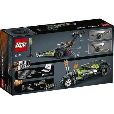 Lego Lego Technic Dragster 42103