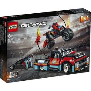 Lego Technic Truck en Motor Stuntshow 42106