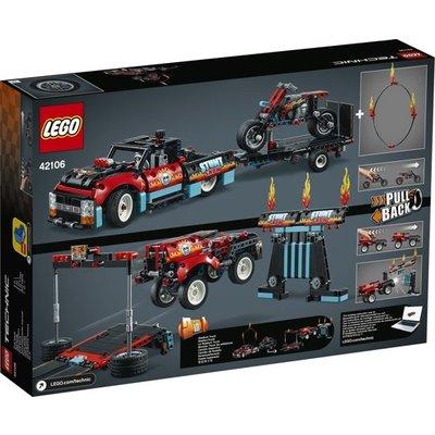 Lego Lego Technic Truck en Motor Stuntshow 42106