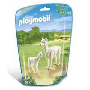Playmobil City Life Alpacca met Baby 6647