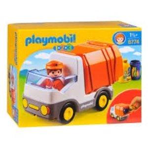 Playmobil 1 2 3 Vuilniswagen 6774