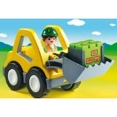 Playmobil Playmobil 123 Graafmachine met Werkman 6775