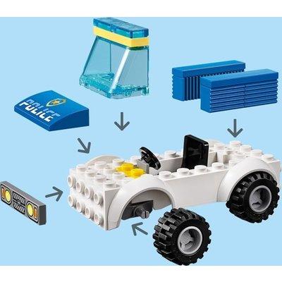 Lego Lego City 4+ Politie Hondenpatrouille 60241