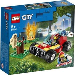 Lego City Brandweer Bosbrand 60247