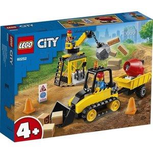 Lego City 4+ Constructie Bulldozer 60252