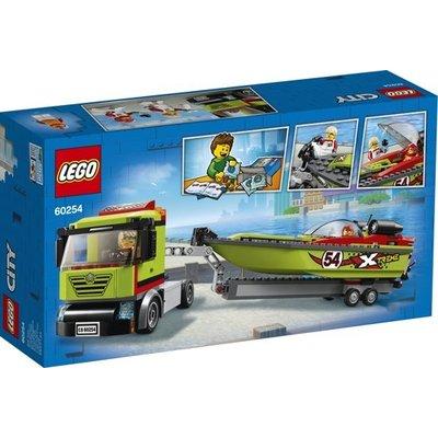 Lego Lego City Raceboottransport 60254