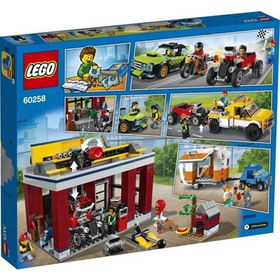 Lego Lego City Tuningwerkshop 60258
