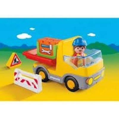Playmobil Playmobil 1 2 3 Vrachtwagen met Laadklep 6960