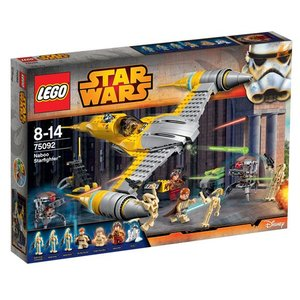 Lego Star Wars Naboo Starfighter 75092