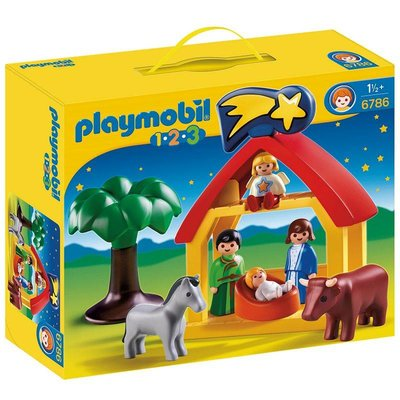 Playmobil Playmobil 123 Kerststal 6786