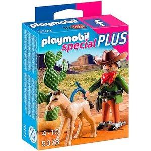 Playmobil Special Plus Cowboy met Wild Veulen 5373