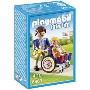 Playmobil City Life Kind in Rolstoel 6663