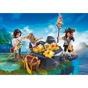 Playmobil Playmobil Pirates Koninklijke Schatkist met Piraten 6683