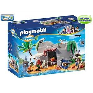 Playmobil Piraten Schuilplaats 4797
