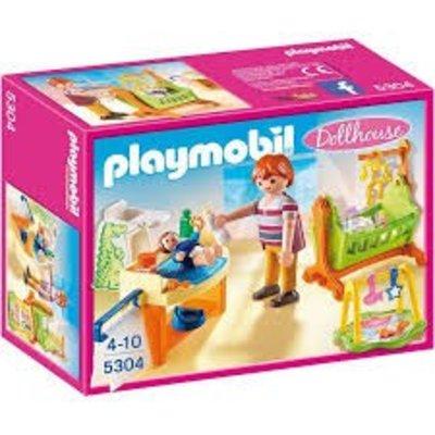 Playmobil Playmobil Dollhouse Babykamer met Wieg 5304