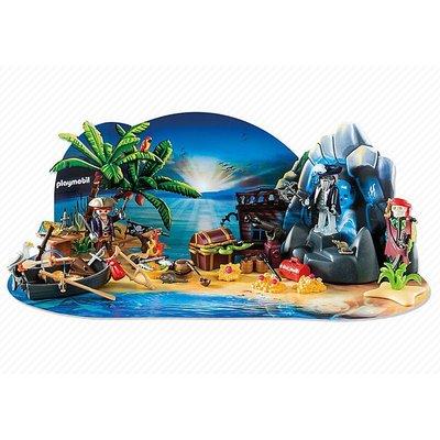 Playmobil Playmobil Pirates Adventskalender Pirateneiland 6625