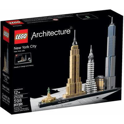 Lego Lego Architecture New York City 21028