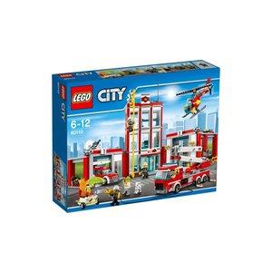 Lego City Lego Brandweerkazerne 60110