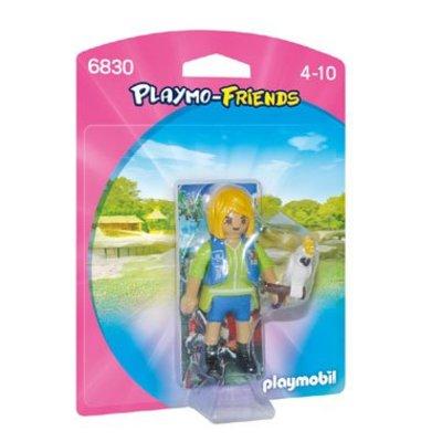 Playmobil Playmobil Playmo Friends Verzorgster met Kaketoe 6830