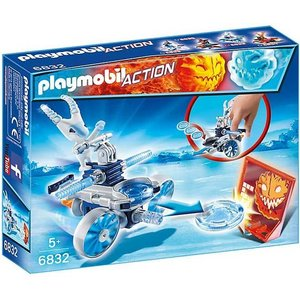 Playmobil Action Frosty met Disc Shooter 6832