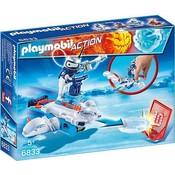 Playmobil Playmobil Action Ice-Bot met Disc Shooter 6833