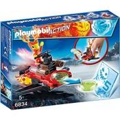 Playmobil Playmobil Action Sparky met Disc Shooter 6834