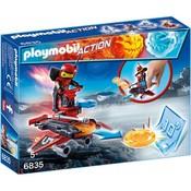 Playmobil Playmobil Action Firebolt met Disc Shooter 6835