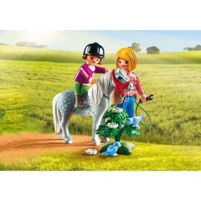 Playmobil Playmobil Country Pony Rijden met Mama 6950