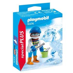 Playmobil Special Plus Artieste met Ijssculptuur 5374