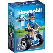 Playmobil Playmobil  City Action Politieagente met Balanceracer 6877