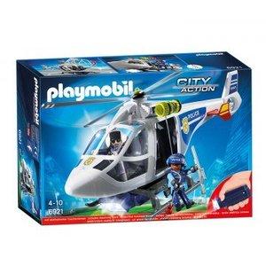 Playmobil City Action Politie Helikopter met LED-Zoeklicht 6921