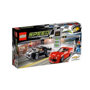 Lego Speed Champions Chevrolet Camero Drag Race 75874