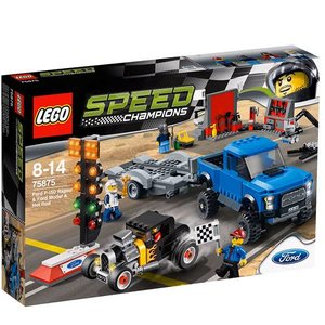 Lego Speed Champions Ford F-150 Raptor & Ford Model A Hot Rod 75875
