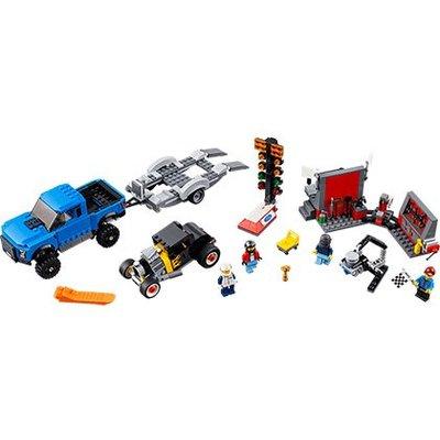 Lego Lego Speed Champions Ford F-150 Raptor & Ford Model A Hot Rod 75875