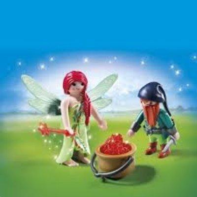 Playmobil Playmobil Duopack Elf en Dwerg 6842