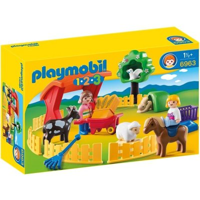 Playmobil Playmobil 1 2 3 Kinderboerderij 6963