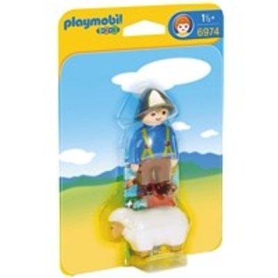 Playmobil Playmobil 1 2 3 Herder met Schaap 6974