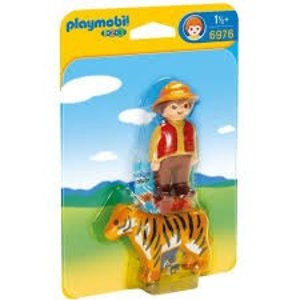 Playmobil 1 2 3 Ranger met Tijger 6976