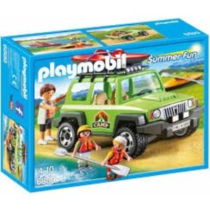Playmobil Summer Fun Familie Terreinwagen met Kajaks 6889