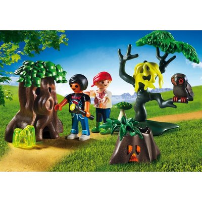 Playmobil Playmobil Summer Fun Nacht Dropping met UV Lamp 6891