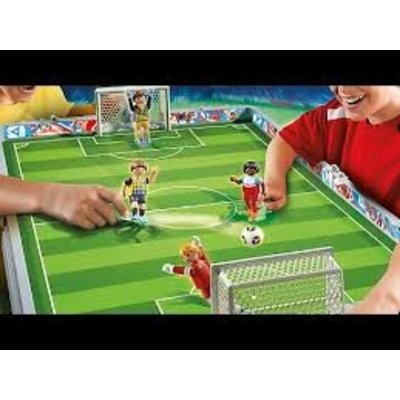 Playmobil Playmobil Sports & Action Meeneem Voetbalstadion 6857
