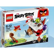 Lego Lego Angry Birds Pigs Areal Attack 75822