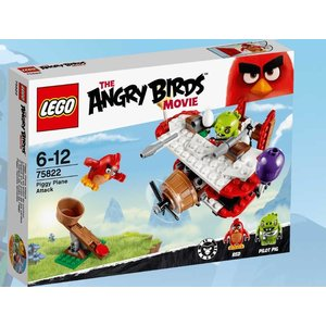Lego Angry Birds Pigs Areal Attack 75822
