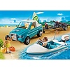 Playmobil Playmobil Summer Fun Pick-Up met Speedboot en Onderwatermoter 6864